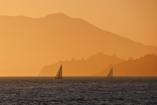 Sunset over Mount Tamalpais