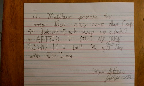 Matthew's contract by jbellis