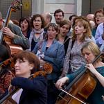 Flashmob organizado por Banco Sabadell
