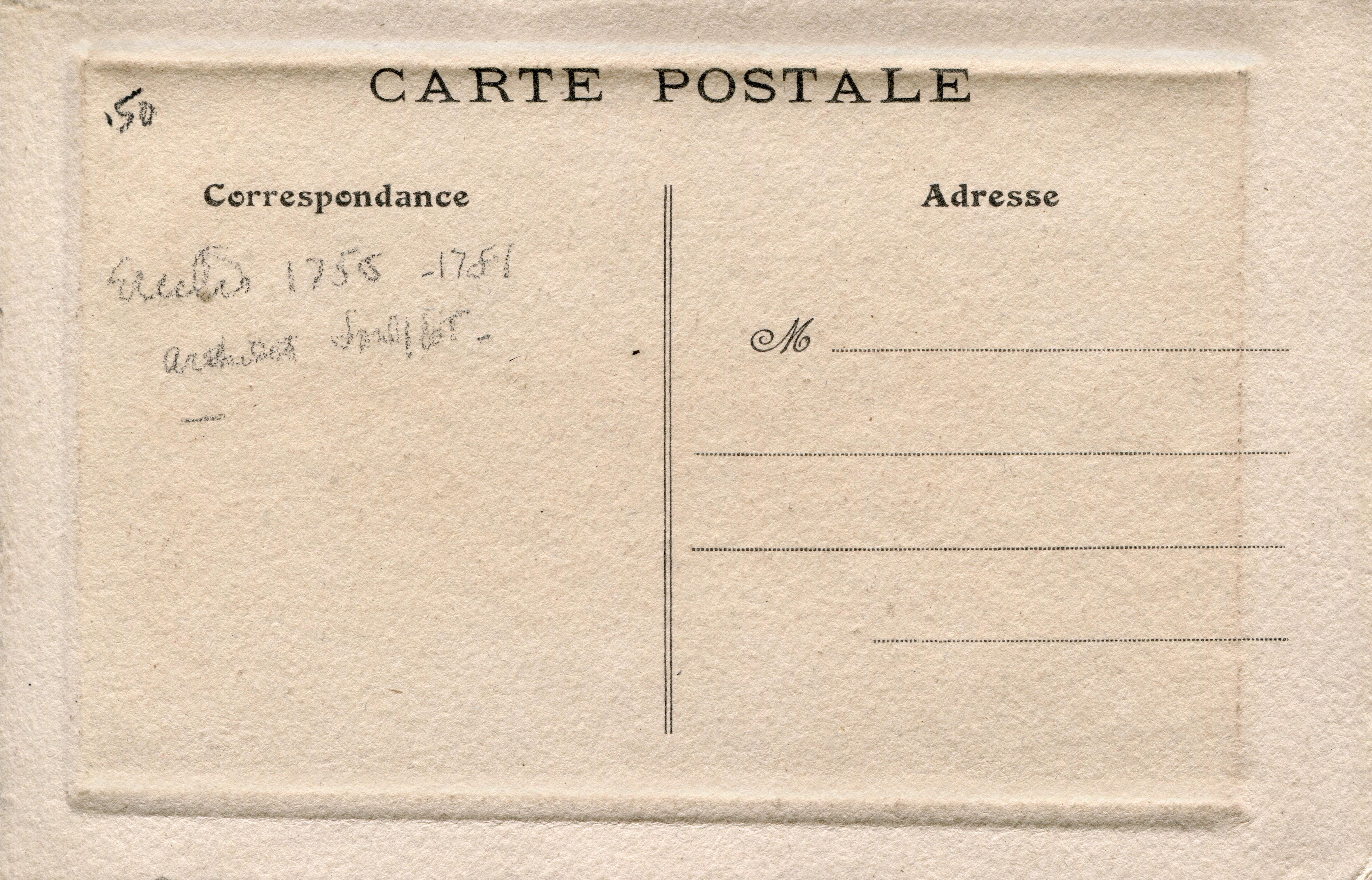Vintage Paper Postcard Texture