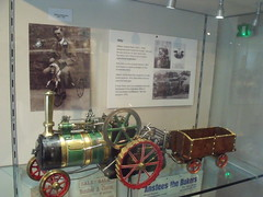 Gold Hill Museum - Shaftesbury - Model Traction Engine - Kitty