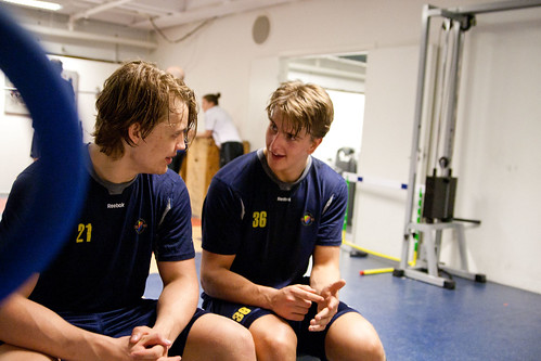 Ludwig Blomstrand och Philip Holm