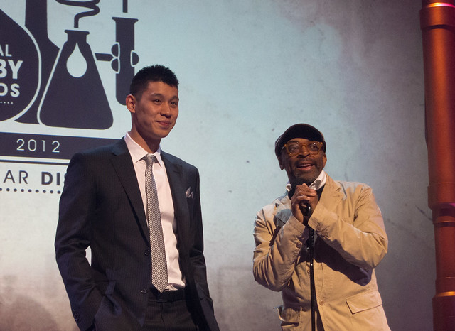 Jeremy Lin & Spike Lee