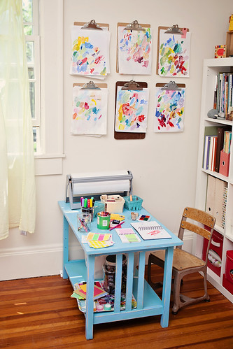 "ada's desk where she asks to do her ""work"""