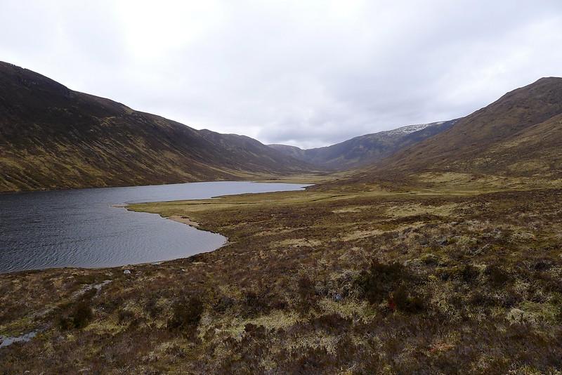 Head of Glen Orrin beyond Loch na Caoidhe