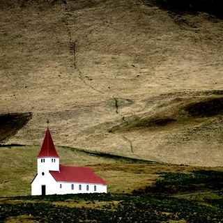 the little church of vík í mýrdal
