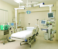 patient(0.0), radiology(0.0), hospital(1.0), room(1.0), clinic(1.0), medical(1.0), operating theater(1.0), medical imaging(1.0),