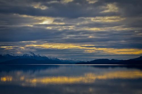 sunset patagonia argentina bariloche nahuel huapi