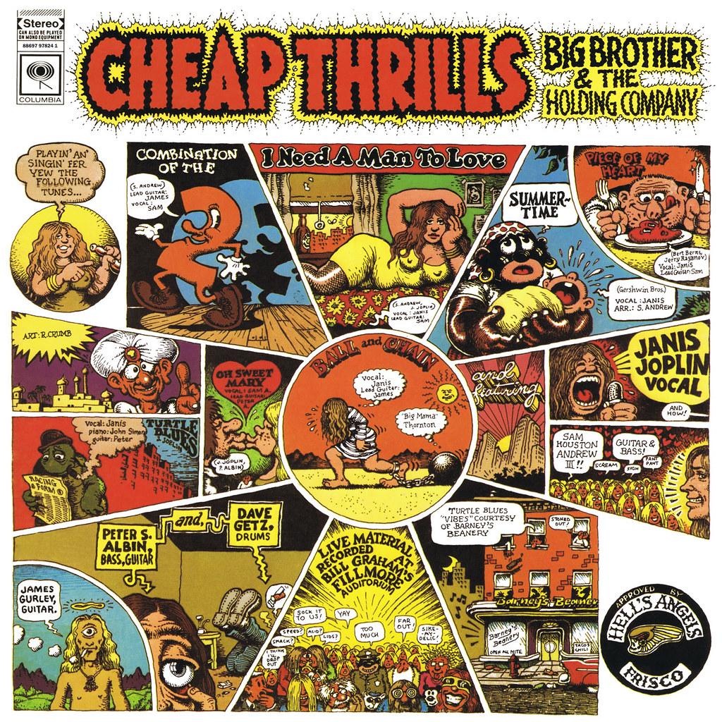 Janis Joplin Lp Cover Art