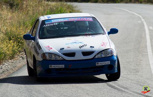Iván Arenas y Jose Antonio Saura, I Rallyesprint Costa Calida