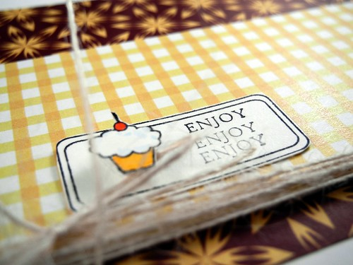 Enjoy Treat Bag (detail)