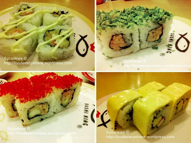 6.sushi roll