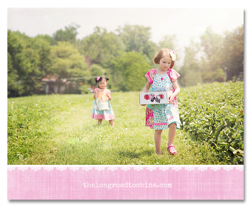 Sarah Walking with the Box of Berries BLOG COLOR MATTE