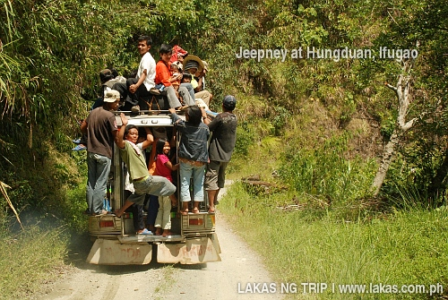 Jeepney in Hungduan, Ifugao