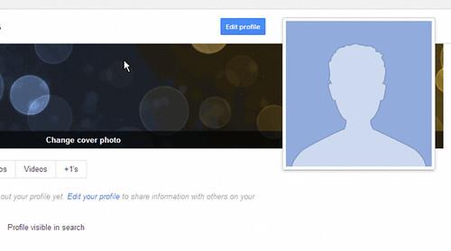 Visible Google Profile