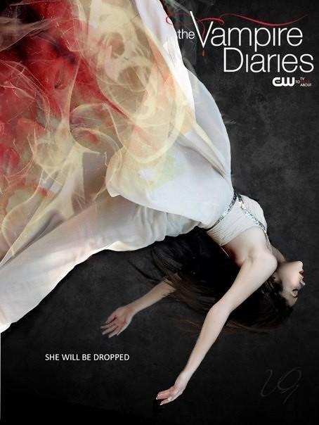 Постеры к 4 сезону дневников вампира
