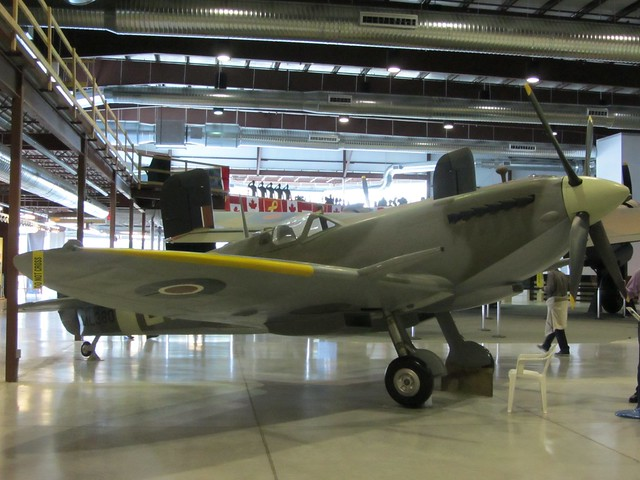 Spitfire at National Air Force Museum Trenton