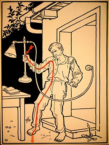 'Achtung!  30 Weisen, von der Tötung durch Stromschlag Zu sterben'  # 10 by x-ray delta one