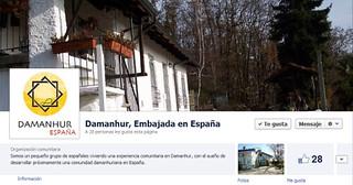 Embajada en España en Facebook