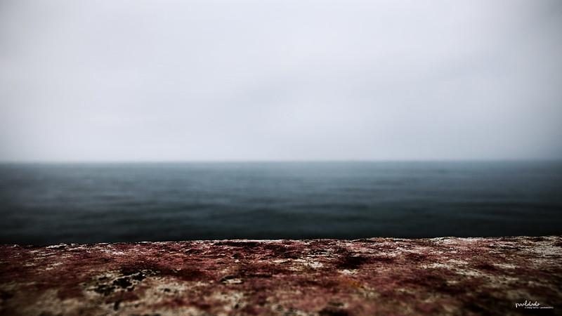 [fine art] edge of land