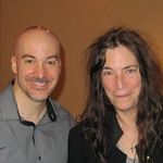 Eric Holland with Patti Smith