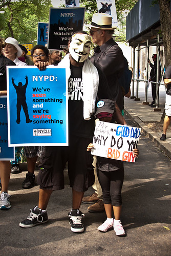 Silent March Against Stop and Frisk-69