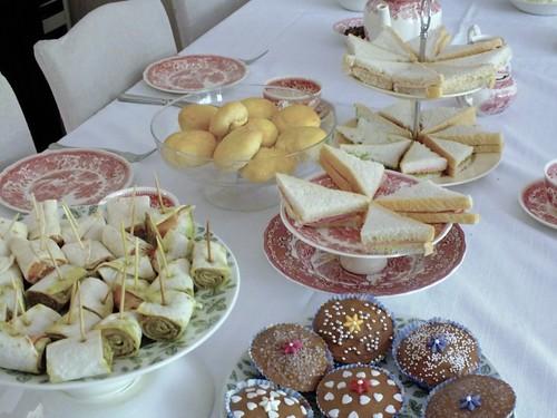 Heerlijke high tea met huisgemaakte gerechten