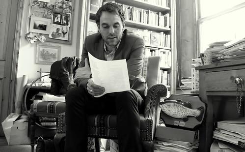 Alexander MacLeod reading me some Elizabeth Bishop by Read Me Something You Love