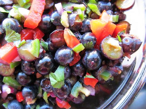Jalapeno Blueberry Salsa