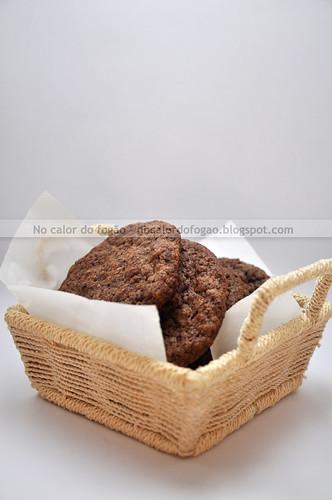 Cookies de granola e ovomaltine