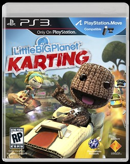 LittleBigPlanet Karting box art for PS3