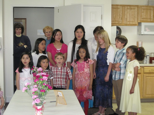 Kids' Choir at Retirement Facility