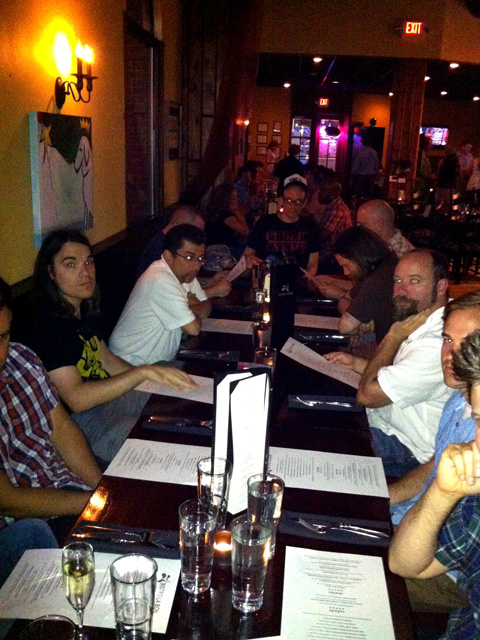 HeroesCon 2012  -- 05 -- Power Dinner