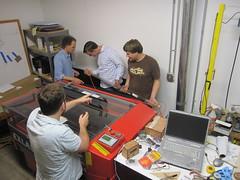 Fixing Laser Tube