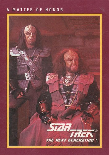 Star Trek The Next Generation 1991 25th Anniversary A Matter of Honor