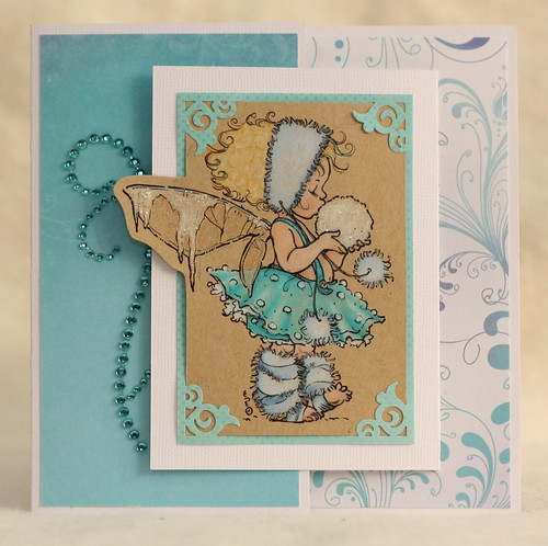 Winter Fairy Joy Fold Card