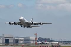 成田空港でA380を撮る