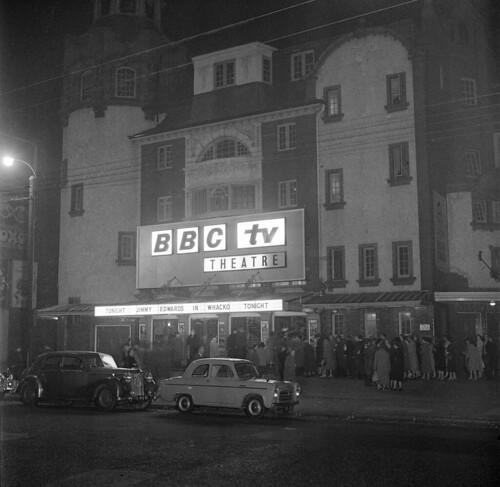 BBC Television Theatre circa 1957