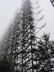 Chernobyl Duga 'Woodpecker' Over-the-Horizon ABM Radar
