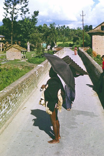 Parasols on collision course - Kathmandu