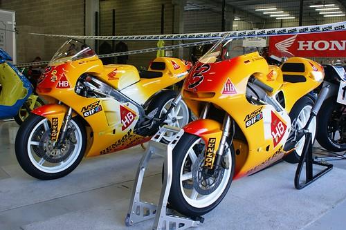 Honda NSR250, ex-Ralf Waldmann