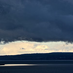 Storm clouds, Whidbey Island, WA
