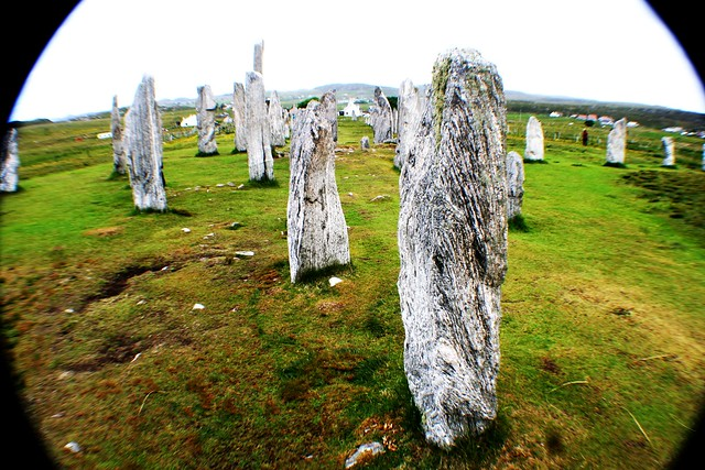 Callanish Prehistoric Stone Circle, Isle of Lewis, Scotland