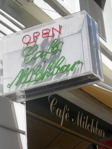 Café Milchbar, Zürich, Switzerland