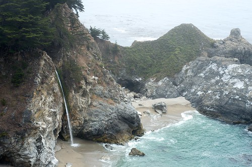 Falls at Julia Pfeiffer Burns State Park