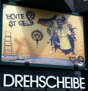 Drehscheibe Bochum: Echte Liebe ist gelb.