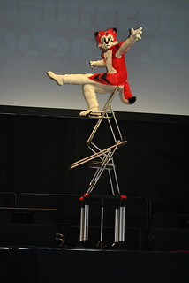 Sardyuon Balancing On Chairs