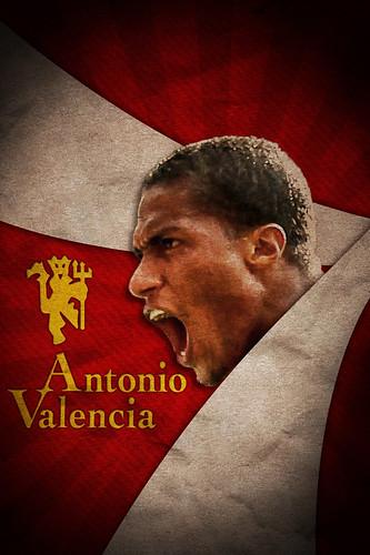 Antonio Valencia iPhone Wallpaper