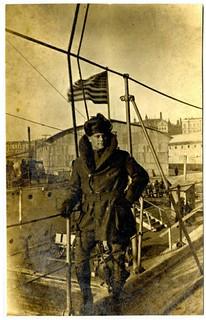 Charles G. Aldrich WWI-era photograph album 2012-033-1-1