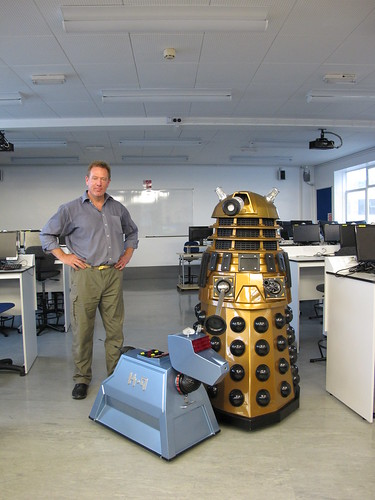 Steve with Welsh K9 and Dalek